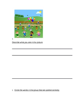Math and ELA common core worksheet practice