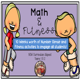 Math and Fitness - NSW Curriculum Aligned