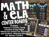 Math and ELA (Centers) Rotation Board