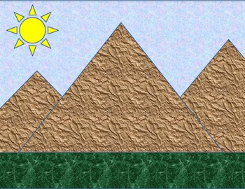Math and L.A. MOUNTAIN SCENE for Story Telling, Story Problems, and More