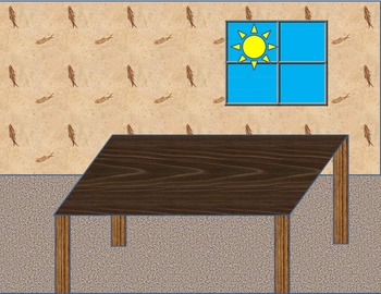 Math and Language Arts TABLE SCENE for Story Telling, Story Problems, and More