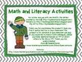 "Math and Literacy Activities for Jan Brett's ""The Mitten"""