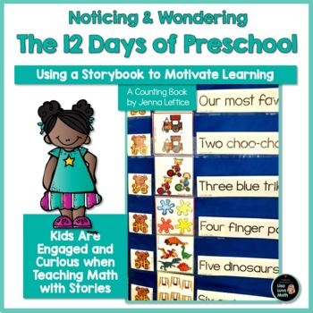 First Day of School Math and Literacy The 12 Days of Preschool