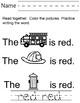 Math and Literacy Activities For Fire Safety Week: Preschool, Kindergarten, 1st