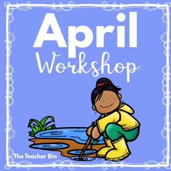 Kindergarten - Special Education-April Showers Science Mat