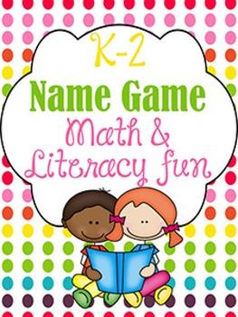 Math and Literacy Back to School Fun {K-2nd}