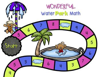 Math and Literacy Board Games for Kindergarten