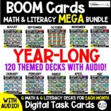 65% OFF Final Price- Math and Literacy Boom Cards for the
