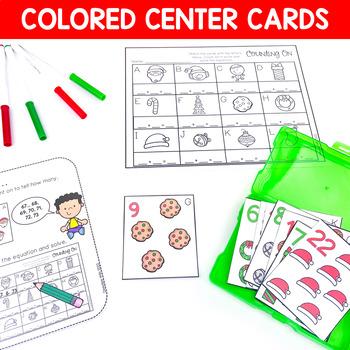 Math and Literacy Center Activities-First Grade December