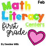 Math and Literacy Center Activities-First Grade February