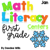 Math and Literacy Center Activities-First Grade January