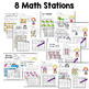Math and Literacy Center Activities-First Grade May