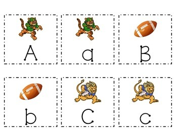Math and Literacy Centers - Football / Super Bowl Theme - for Pre-K to K