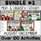 Math and Literacy Centers Part 1 of 2 Year BUNDLED! Aligned to the CC