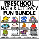 Math and Literacy for Toddlers and Preschool BONUS BUNDLE