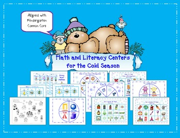 Math and Literacy Centers for the Cold Season