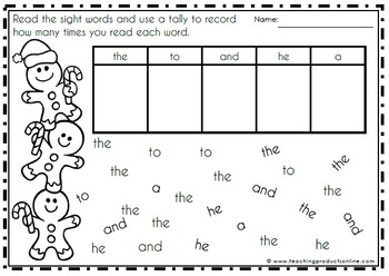 Christmas Activities Math and ELA