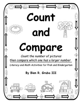 Math and Literacy: Count and Compare Numbers for Prek