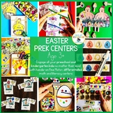 Math and Literacy Easter Activities Preschool and Kindergarten