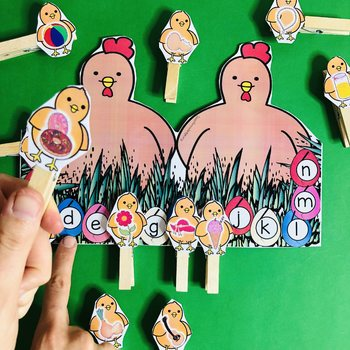 Math and Literacy Easter Activities Preschool and K