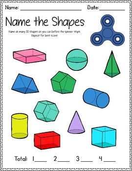 Math and Literacy Fidget Spinner Bundle