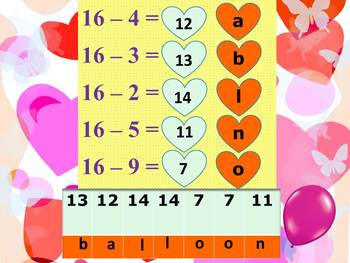 Addition and Subtraction Math and Literacy Fun PowerPoint End of the year
