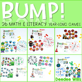 Math and Literacy Game BUMP set