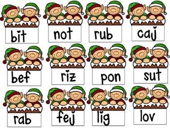 Math and Literacy Games for Christmas