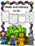 Kindergarten Math and Literacy In Oz For Kindergarten