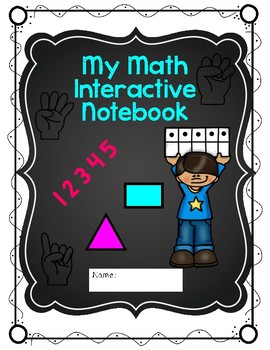 Math and Literacy Interactive Notebooks Covers