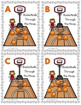 Elementary - Kindergarten-Basketball March Hoops