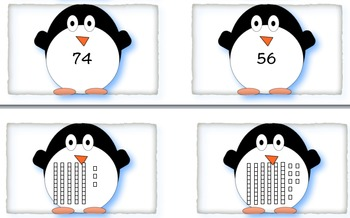 Math and Literacy Penguin Pack