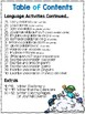 Math and Literacy Practice Pages for Bilingual Kinders - P