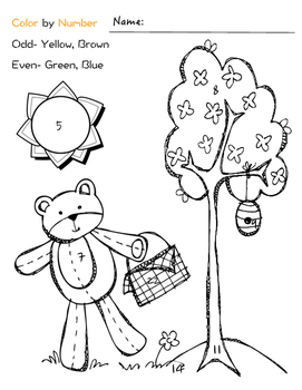 """""""Berenstain Bears and Too Much TV"""" Printables"""