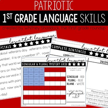 Patriots Day Worksheets For Math And Literacy Bundle Tpt