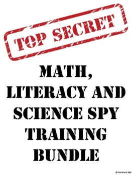 Math, Literacy and Science SPY training unit