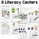Math and Literacy Center for August & September