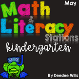 Math and Literacy Center Activites for May