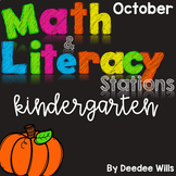 Math and Literacy Stations for October