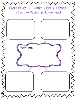 Math and Literacy Summer Learning Packet