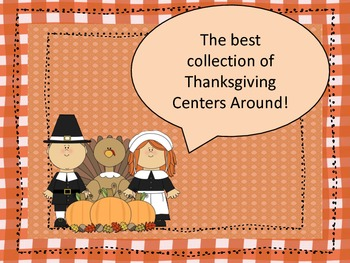 Math and Literacy Thanksgiving Center Collection