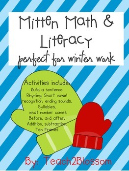 Math and Literacy: Winter Work