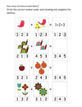 Math and Literacy Worksheets