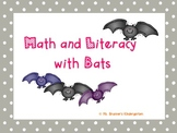 Math and Literacy with Bats