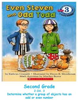 Math with Literature (Odd and Even Numbers)