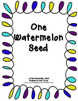 Math and Literature:  One Watermelon Seed