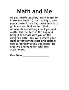 Math and Me