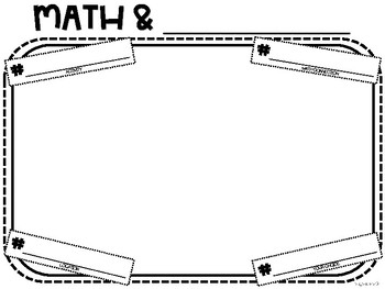 Math and Me:  Beginning of the Year Activity