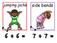 Math and Move! Exercise Task Cards Around the Room {Double