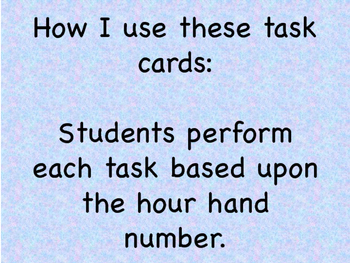 Math and Move! Exercise Task Cards Around the Room {Time to 5 Min}